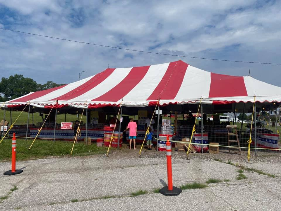 100 Black Men of Omaha 2021 Fireworks Stand Opened Daily